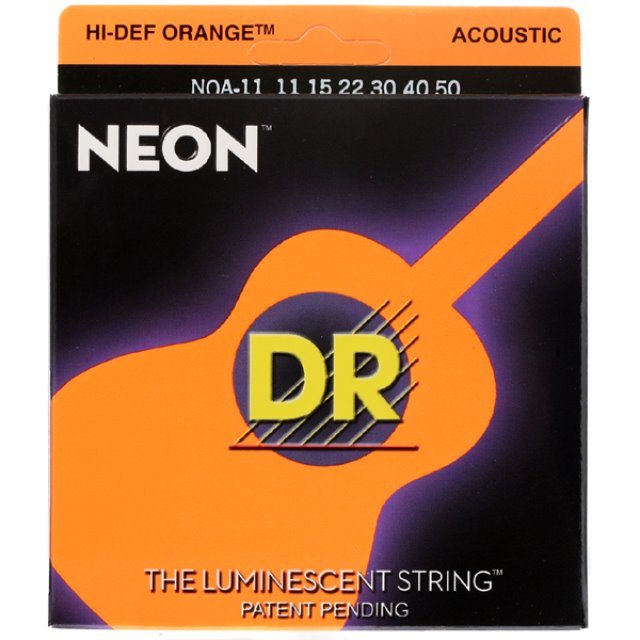 DR NEON OR 11-50 통기타줄DR